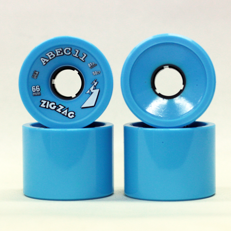 abec 11 zigzag 66mm blue