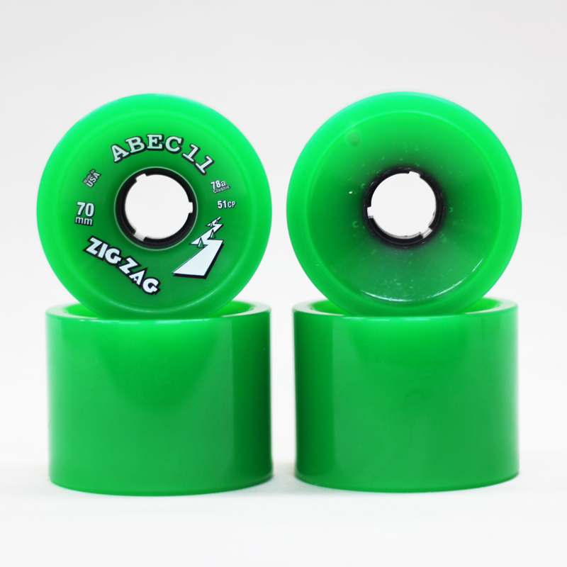 abec 11 zigzag 70mm green