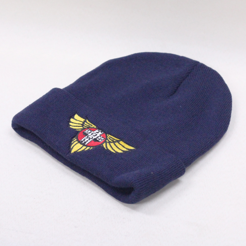 dtst wing patch beanie