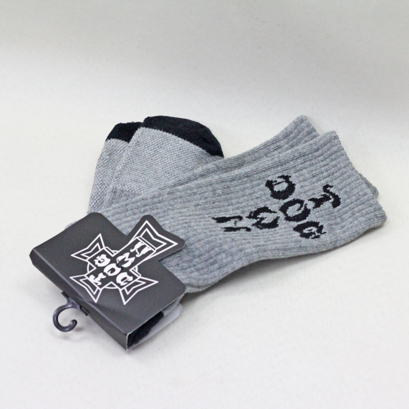 dogtown crew socks grey