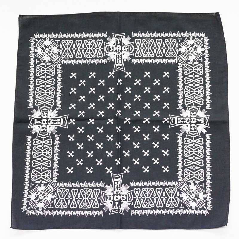 dogtown bandana black