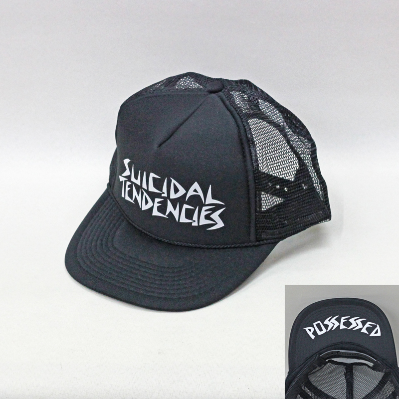 suicidal tendencies mesh flip hat