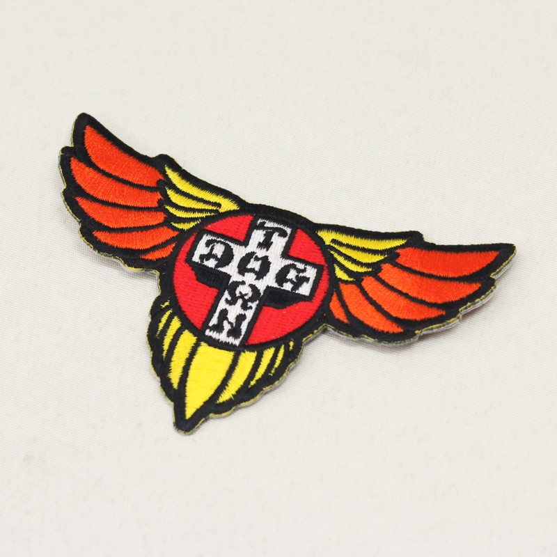 dtst emb wing patch