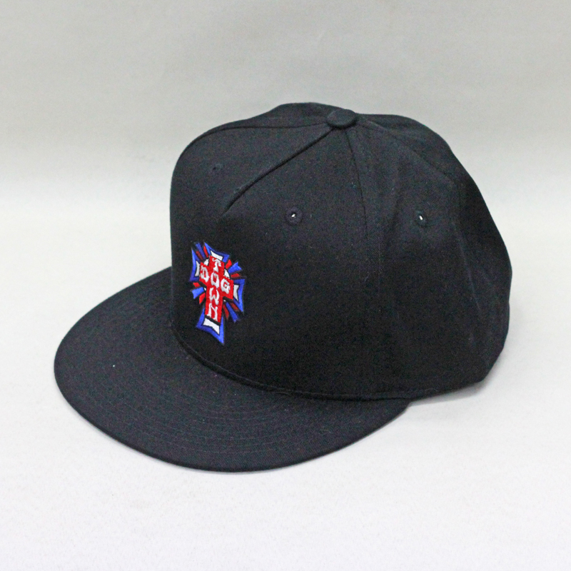 dogtown cross color snapback grey
