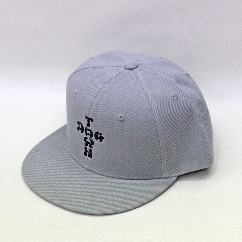 dogtown cross letter snapback grey