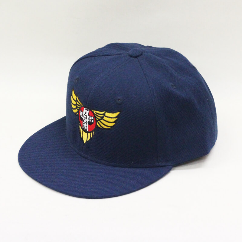 snap back wings navy
