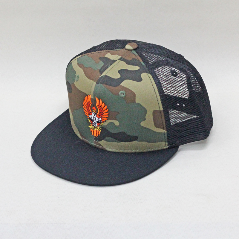 camo mesh cap bigfoot