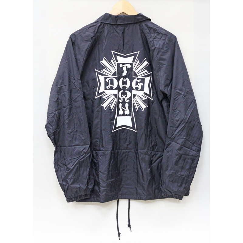 cross logo windbreaker black