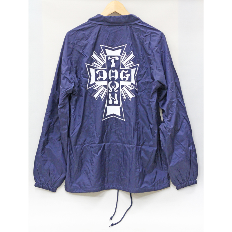 cross logo windbreaker navy