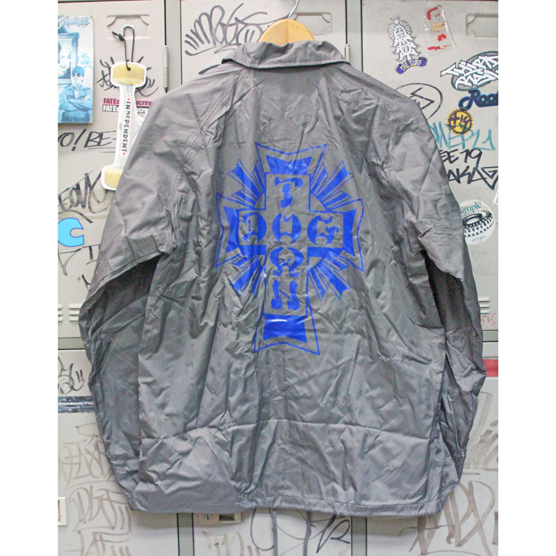 cross logo windbreaker silver