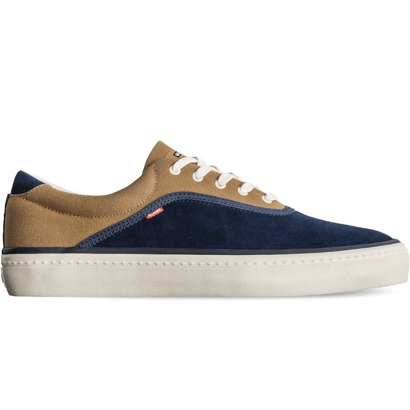 globe sprout navy/brown/antique