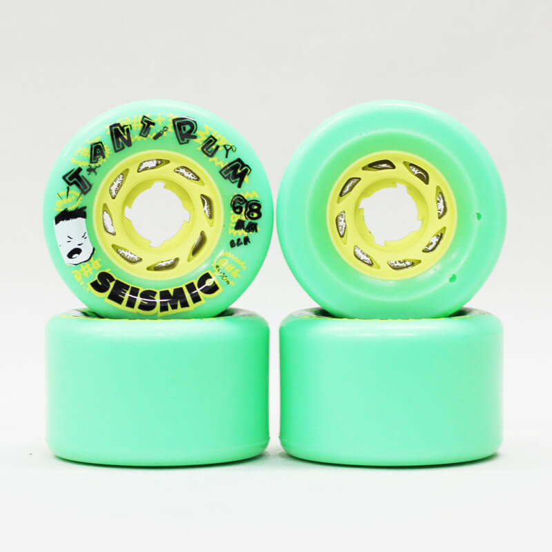 seismic tantrum 68mm green