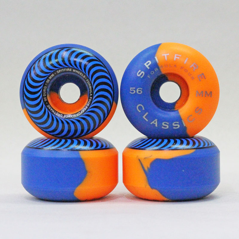 spitfire f4 99du classic swirls blue x orange