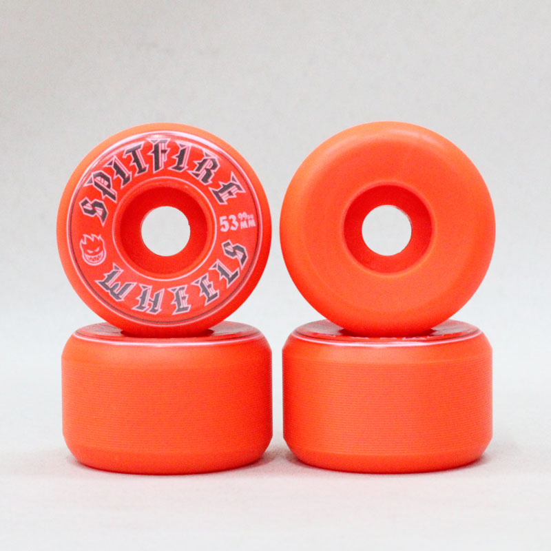 spitfire old english orange