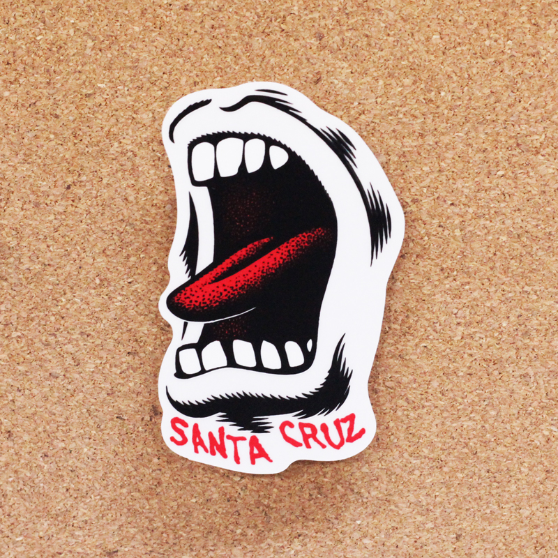 santa cruz screaming mouth