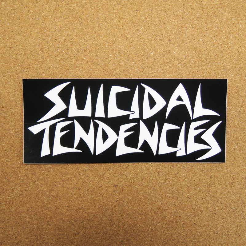 suicidal tendencies logo black