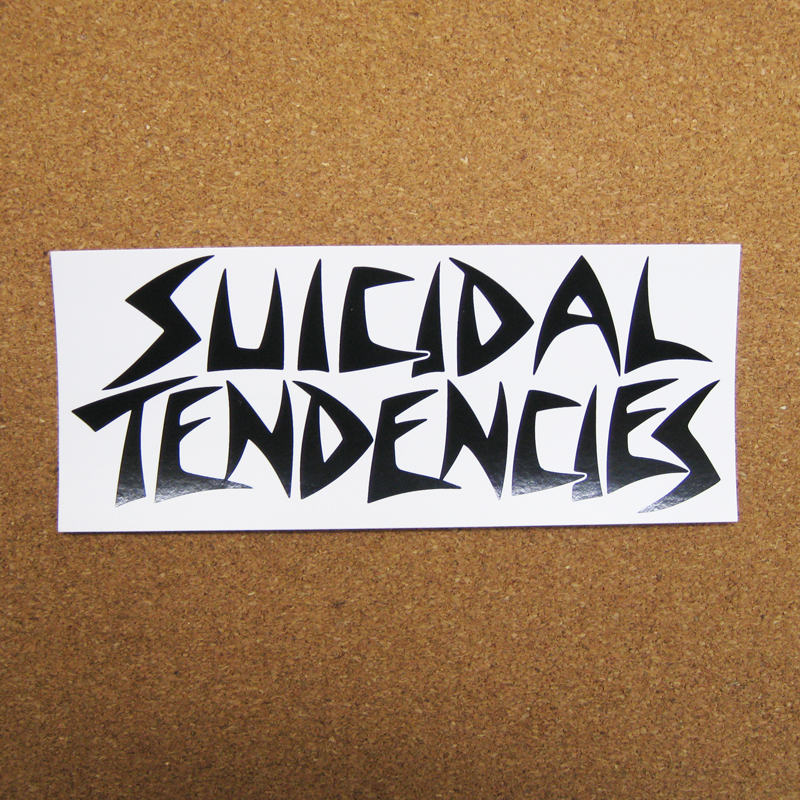 suicidal tendencies logo white