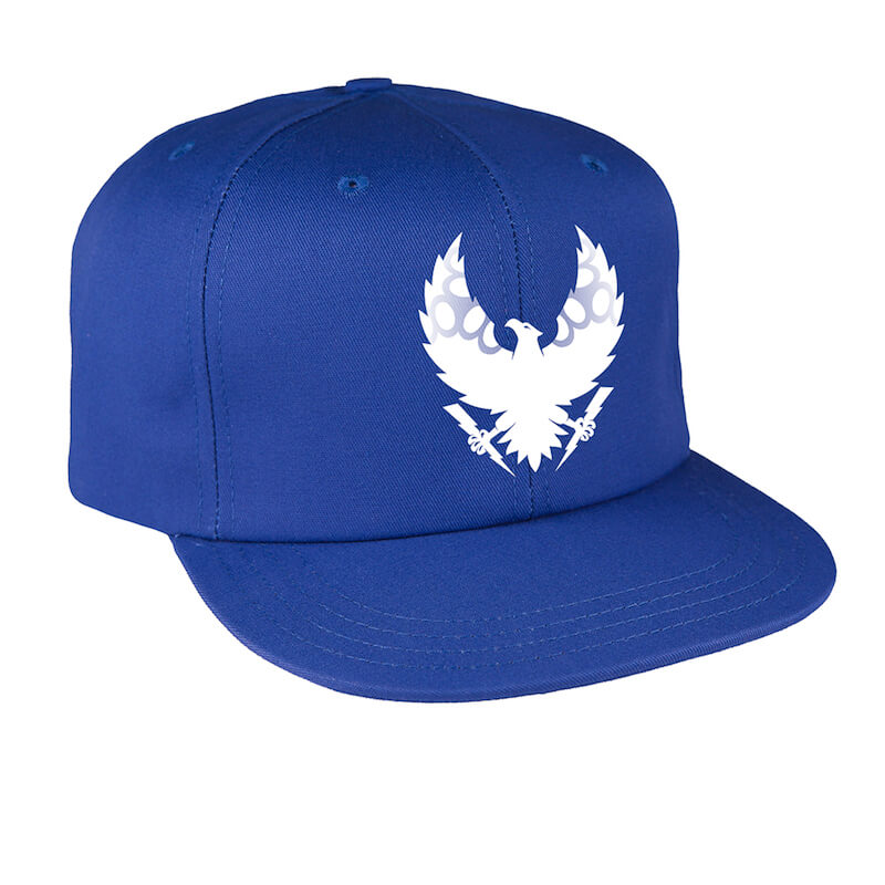 triple eight get used to it snap back hat royal blue