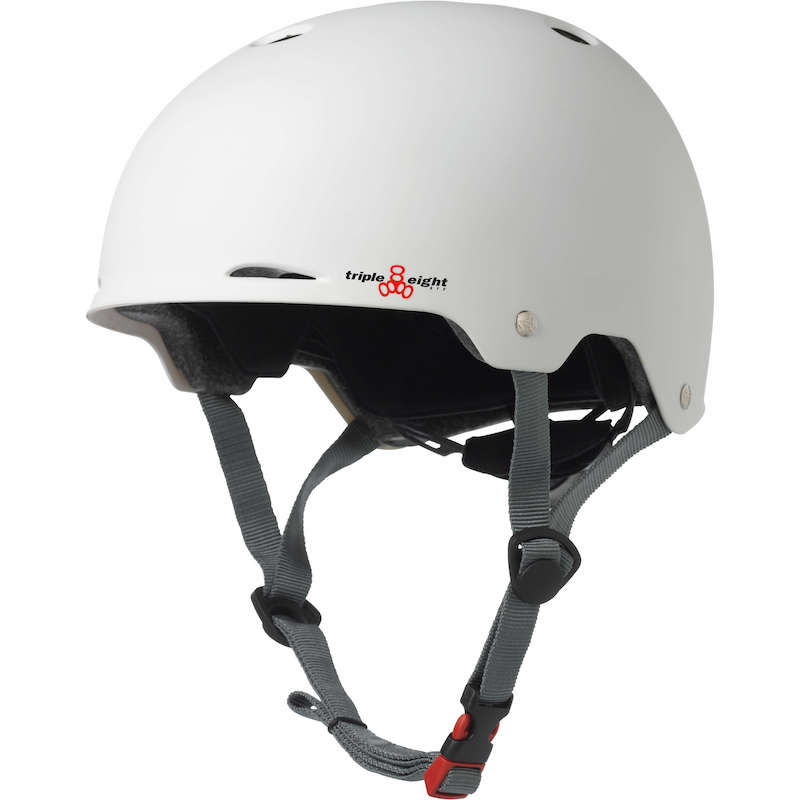 triple eight gotham helmet white rubber