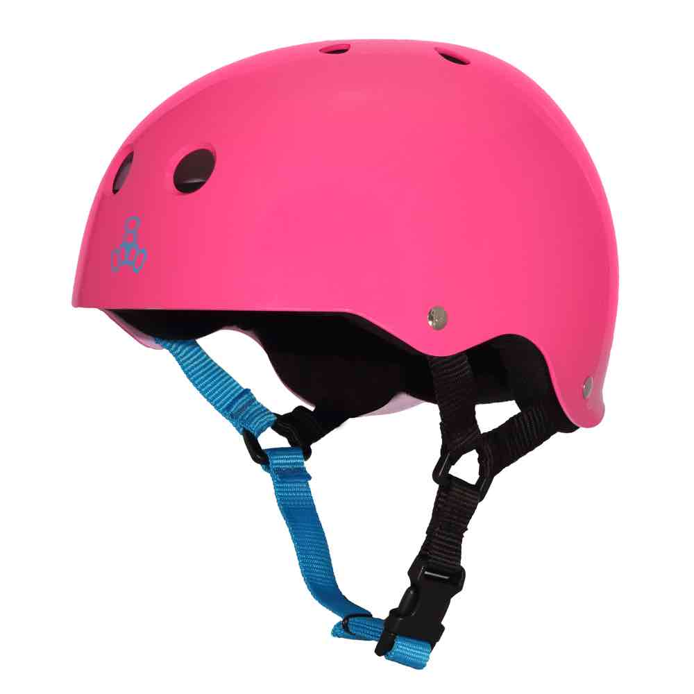 triple eight neon fuchsia rubber
